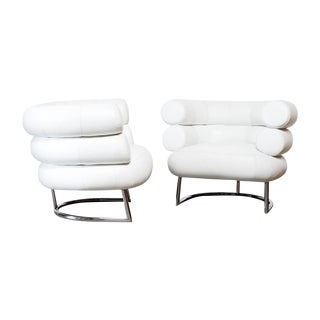 Eileen Gray Classicon Bibendum Chairs - A Pair