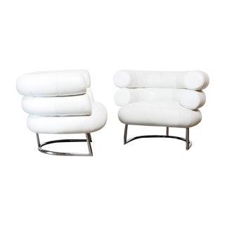 Eileen Gray Classicon Bibendum Chairs - A Pair