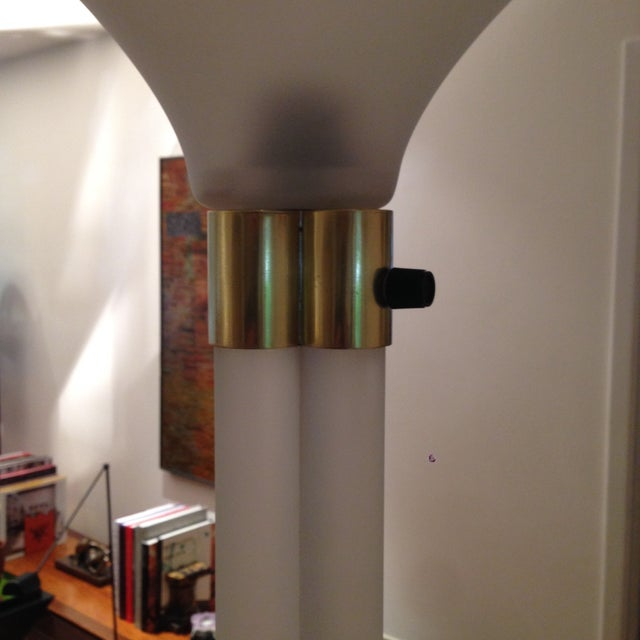 Image of Karl Springer Lucite Floor Lamp