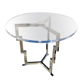 Charles Hollis Jones Ziggurat Center Hall Table