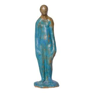 "Social Justice ""Got the Blues"" Sculpture by Ofra Ben David"