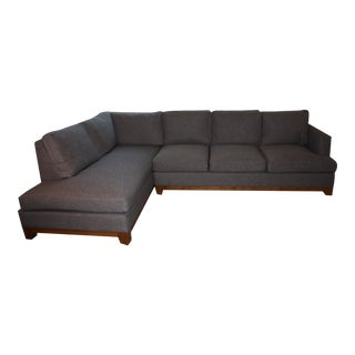 Mid-Century Modern Custom Made 2 Piece Sectional
