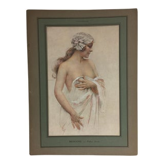 Brisgand Modesty 1940s French Print