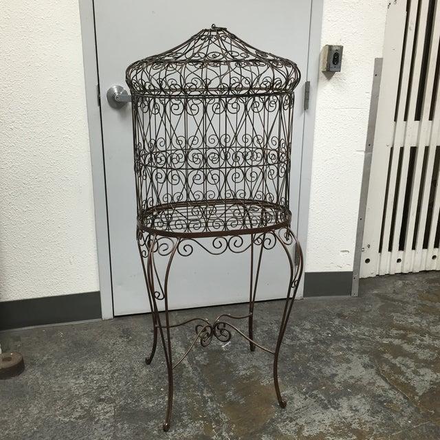 Image of Decorative Iron Bird Cage