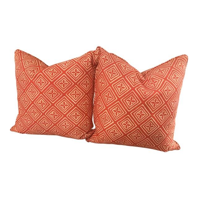 Quadrille China Seas Fiorentina Pillows - A Pair - Image 1 of 3