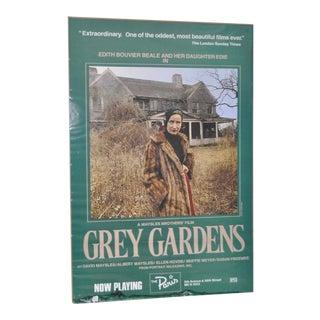 "Vintage ""Grey Gardens"" Movie Poster"