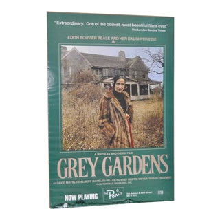 "Vintage ""Grey Gardens"" Movie Poster"