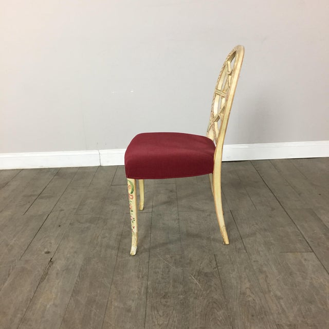 Image of Hand Painted Side Chair