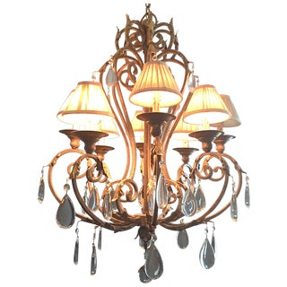 Metropolitan Zaragosa Golden Bronze 8 Shaded Light