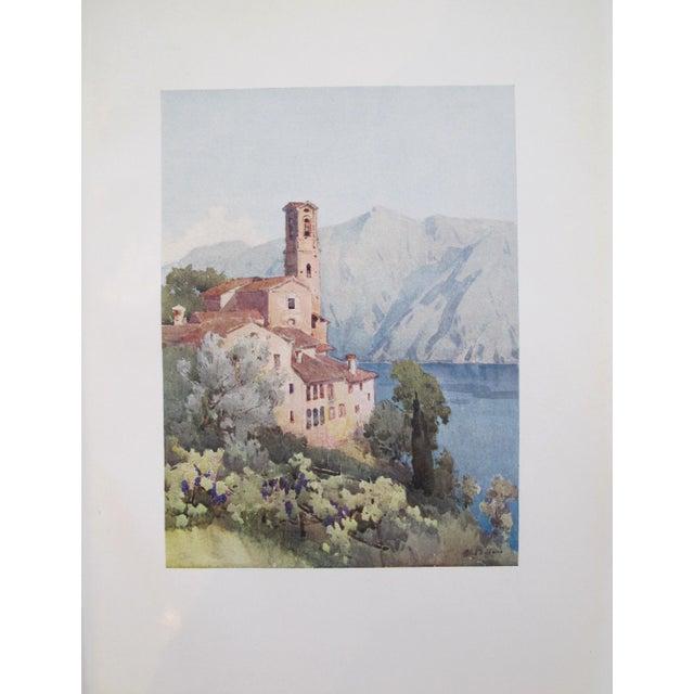 1905 Ella du Cane Print, Castagnola, Lago di Lugano - Image 2 of 4