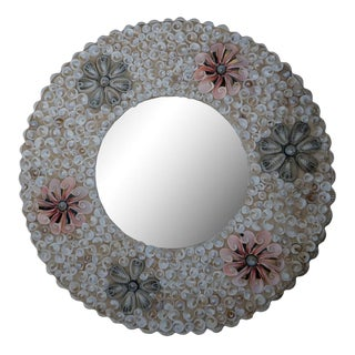 Indonesian Round Mirror