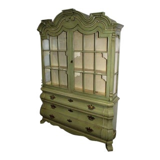 Dorothy Draper Henredon Viennese Collection Display Cabinet