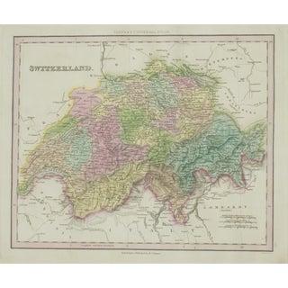 Cowperthwait: Map of Switzerland, 1850