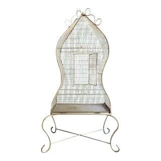 Vintage Decorative Metal Bird Cage