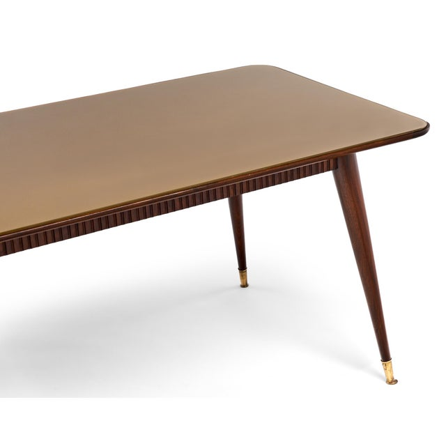 Italian Mid-Century Modern Dining Table - Image 9 of 11