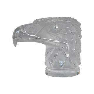 Lalique Eagle Head Car Mascot