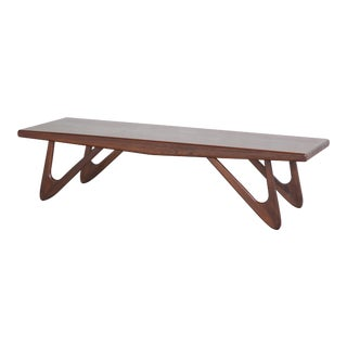 Rosewood Coffee Table in the Style of Pearsall