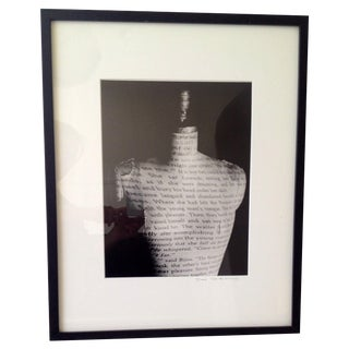 Anais Nin Dress Form Original Print J.W. Diel