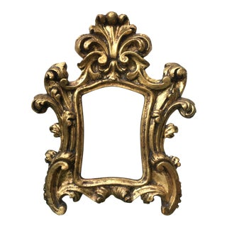 Heavy Chalkware French Baroque Frame