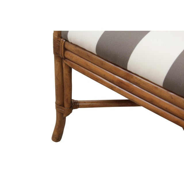 Bamboo Dining Chairs - Set of 8 - Image 5 of 9