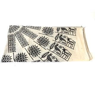 Turkish Cloth Tokat Yazma Throw or Tablecloth