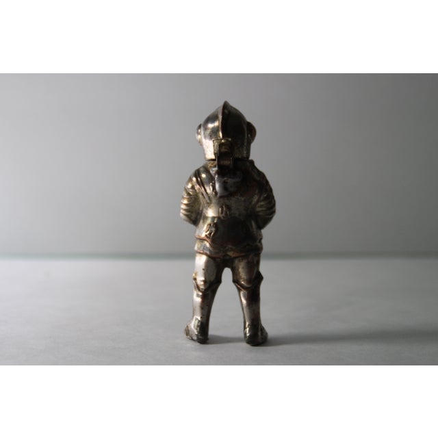 Vintage Silver-Tone Metal Knight Lighter - Image 4 of 6