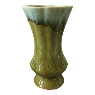 Greenery Ceramic Glaze Drip Vase