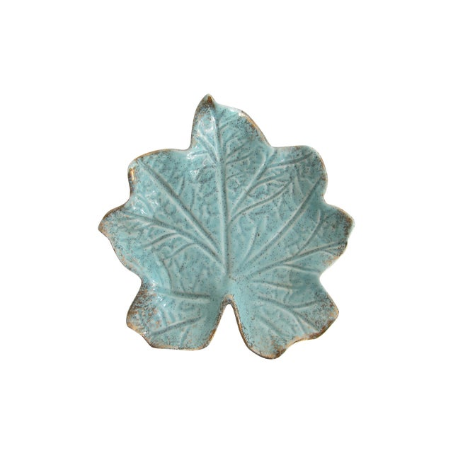California Pottery Leaf Dish - Image 1 of 5