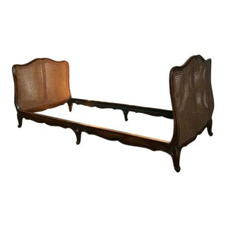 Antique Caned Bentwood Daybed Sofa Frame