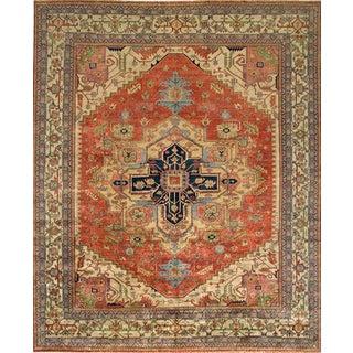 """Pasargad Serapi Wool Area Rug- 5' 1"""" X 6' 9"""""""