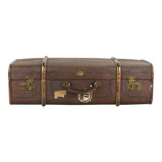 Vintage German Suitcase Trunk