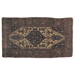"Antique Bakhtiar Rug - 5'10"" X 3'4"""