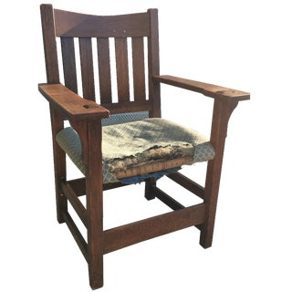Early 19th-C. Gustav Stickley Armchair