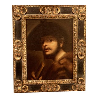 Vintage Oil Paint Portrait of a Gentleman