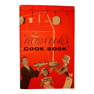 """Vintage Edison Electric """"The New Cook's Cook Book"""", 1953"""