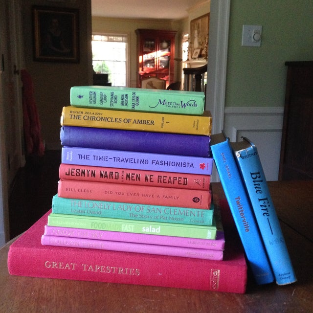 Brightly Colored Decorative Books - Set of 13 - Image 3 of 11