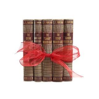 1930's Murder Mystery Books- Set of 5