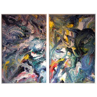 Diptych by Richard Mann - A Pair