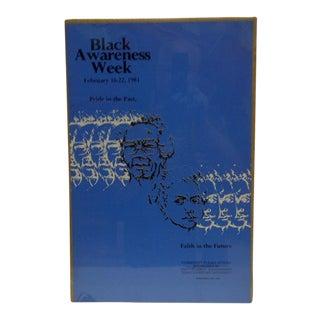 'Black Awareness Week' Poster