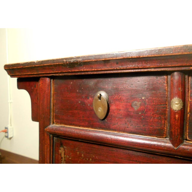 Antique Chinese Ming Altar Cabinet - Image 5 of 9