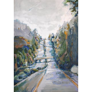 Highway 13 Oil Painting