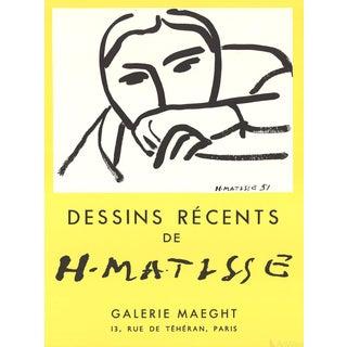 "Henri Matisse ""Dessins Recents"" 1968 Lithograph"