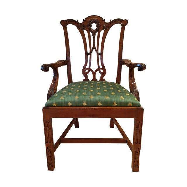 Chippendale Side Armchairs- A Pair - Image 1 of 7