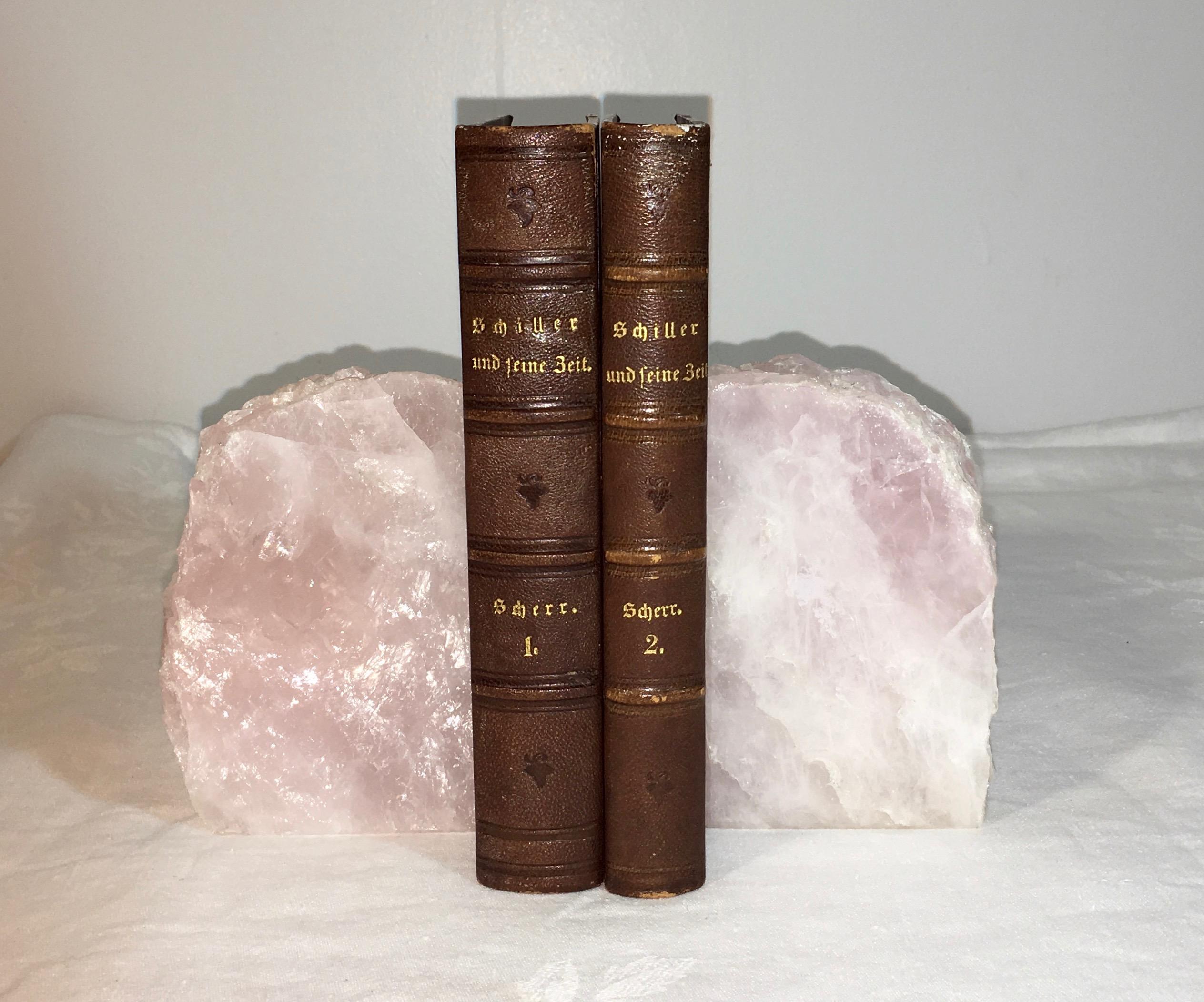 Natural Stone Rose Quartz Bookends A Pair Chairish