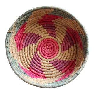 Native American Coil Basket Bowl
