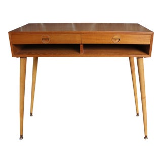 Mid-Century Danish Teak Console Table