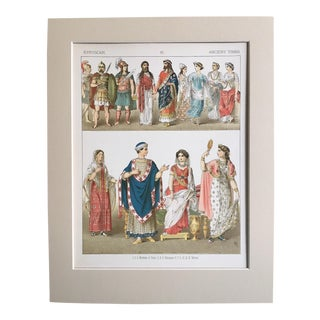 "19th Century ""Etruscan Ancient Times"" Costume Print"