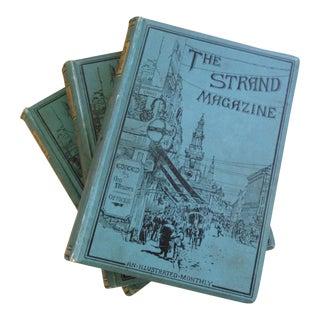 The Strand Magazine Illustrated Books - Set of 3 Volumes