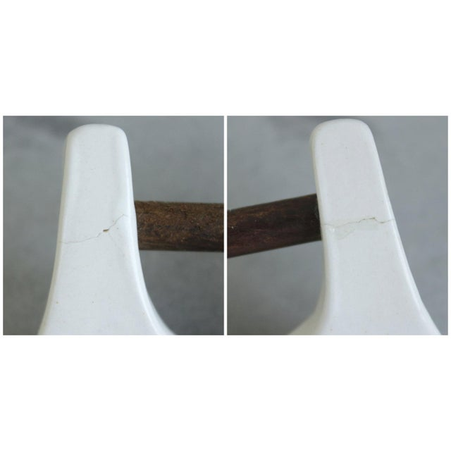 Image of Bennington Potters White Ceramic Casserole Tureen