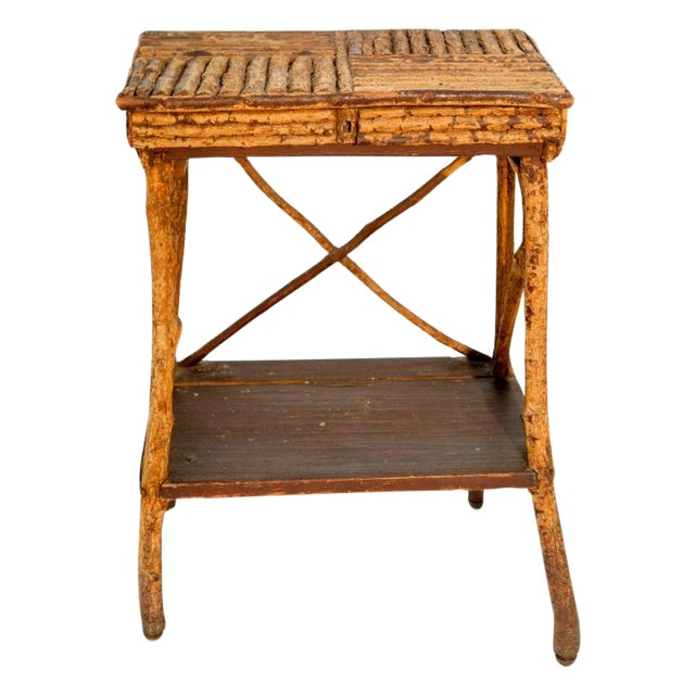 1920s Twig Side Table - Image 1 of 2